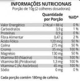 THERMO ACTIVE (250G) - Frutas Cítricas